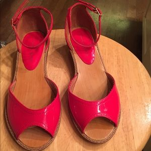 Chinese Laundry sz 5.5 (36) red patent leather
